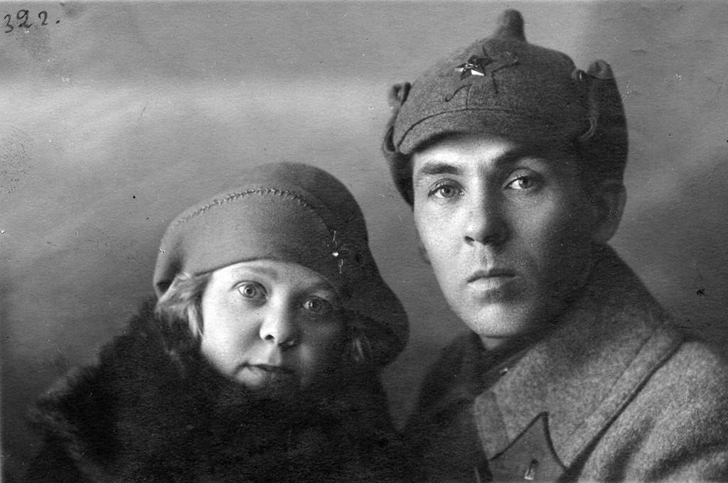 Масленников ф ф с супругой варварой